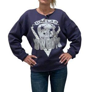 NFL Dallas Cowboys Reworked Sweatshirt Size Small